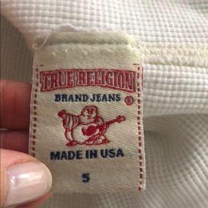 True Religion Shirts - True Religion Long Sleeve White Shirt SZ S